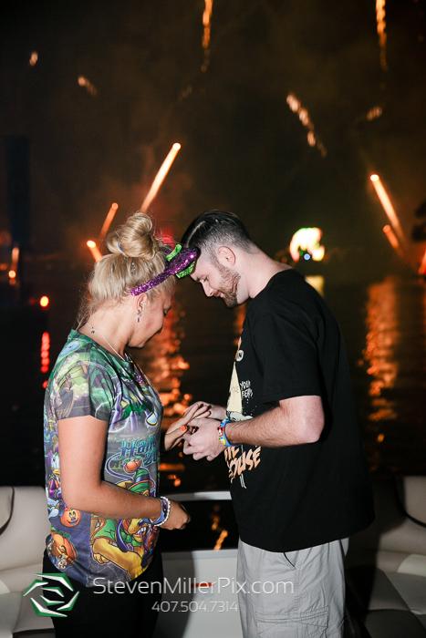 Disney Surprise Proposal Photographers   Epcot Center Weddings