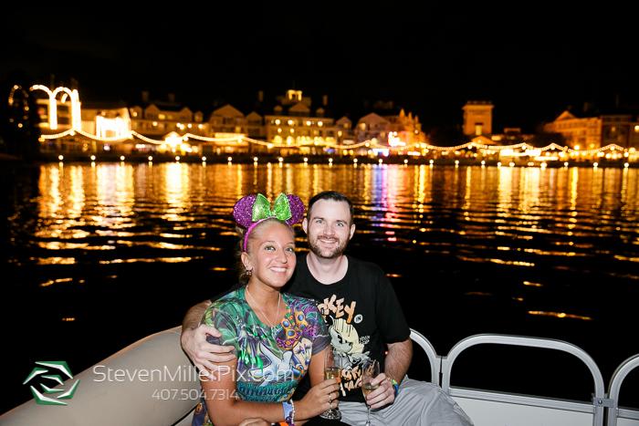 Disney Surprise Proposal Photographers | Epcot Center Weddings