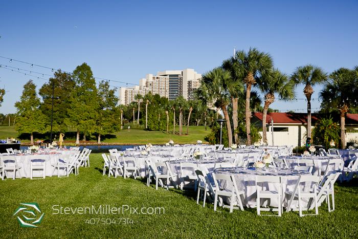 Orlando Wedding Photographer | Hyatt Regency Grand Cypress Lakeside Terrace