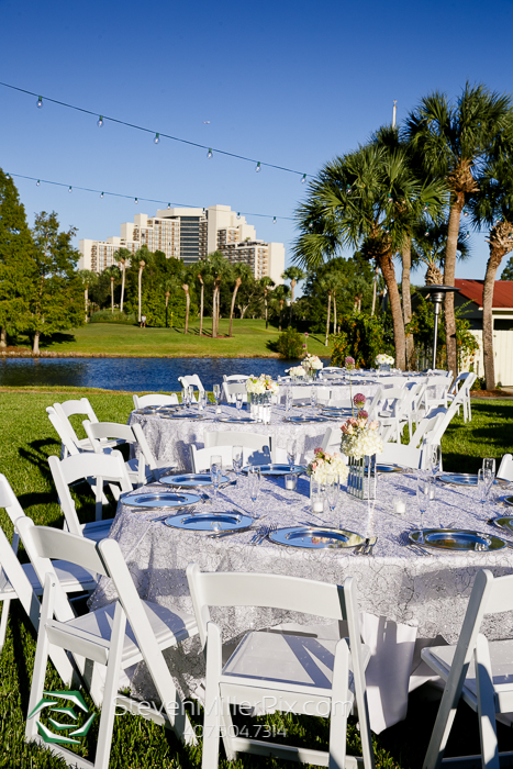 Orlando Wedding Photographer | Hyatt Regency Grand Cypress Lakeside Terrace