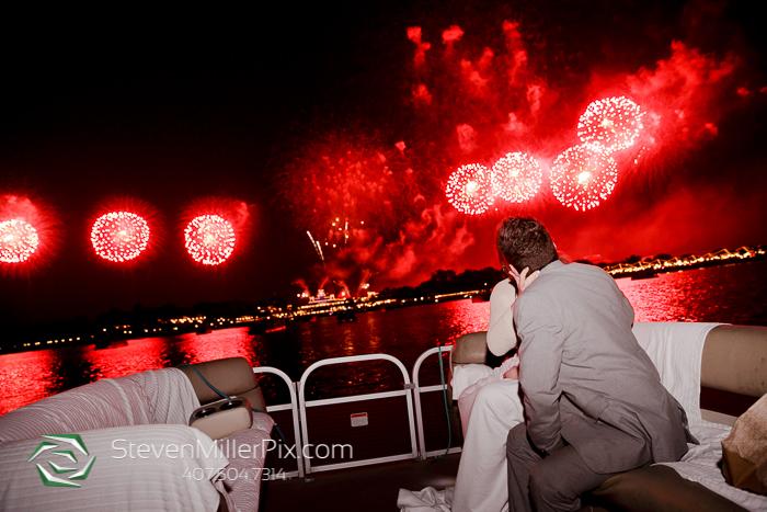 Surprise Disney Fireworks Proposal Photographers Orlando