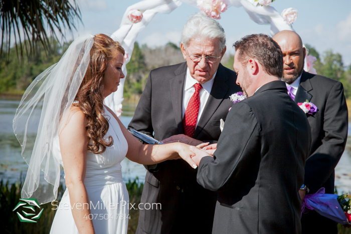 Red Bug Lake Park Wedding Photographers | Orlando Backyard Weddings