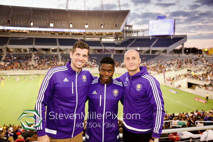 Orlando City Soccer Official Photographers in Downtown Orlando