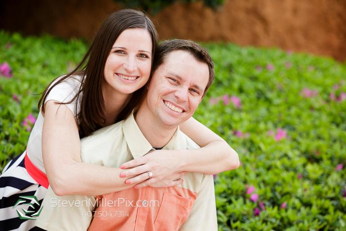 Disney Epcot Engagement Photos | Orlando Wedding Photographers