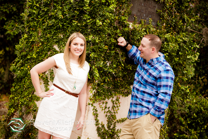 Orlando Wedding Photographers   Winter Park Engagement Photos
