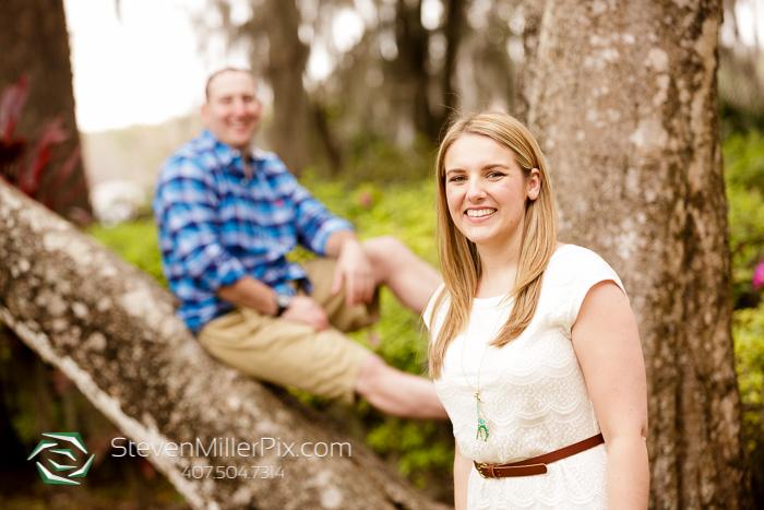 Orlando Wedding Photographers | Winter Park Engagement Photos