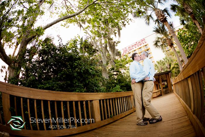 LGBT Wedding Photographers | Orlando Airport Marriott Weddings