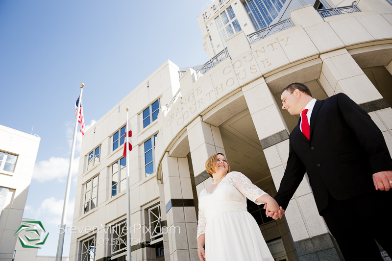 Downtown Orlando Courthouse Wedding Photographers