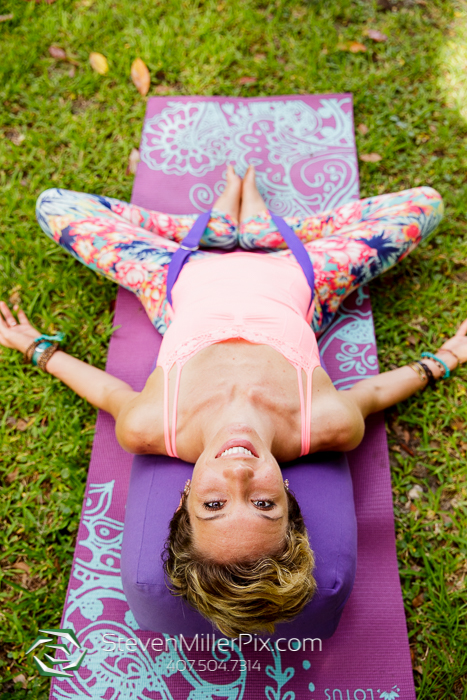 Orlando Yoga Session Photographer Winter Park