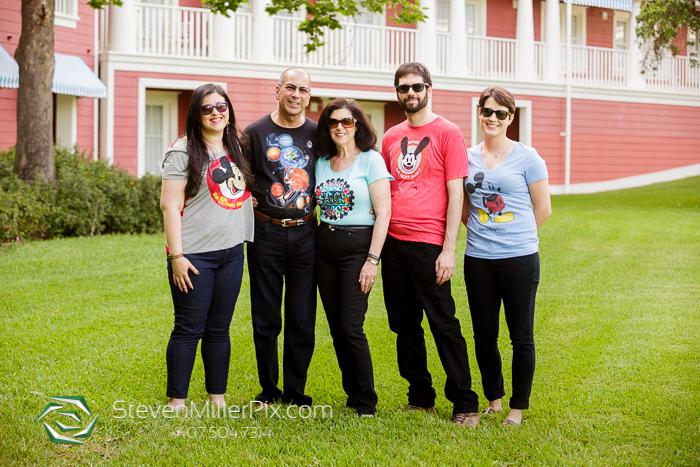 Disney Boardwalk Family Portrait Photos | Steven Miller Photography