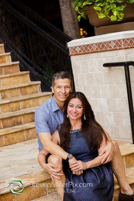 Rosen Shingle Creek Resort Weddings | Downtown Orlando Engagement Session