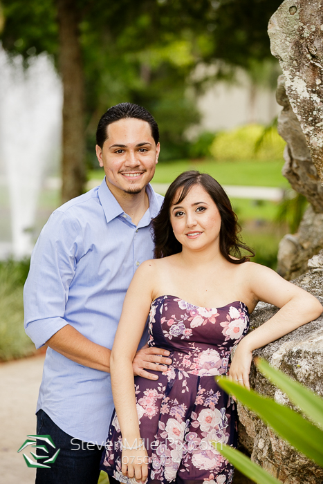 Hyatt Regency Grand Cypress Engagement Photos