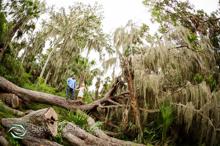 Mount Dora Gilbert Park Engagement Photographer