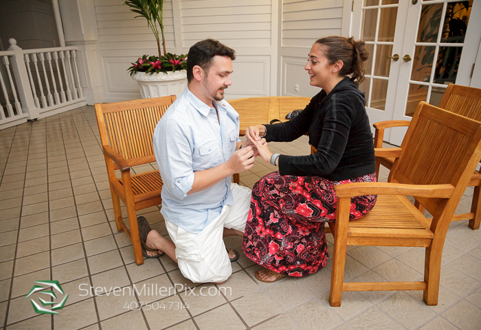 Disney Proposals at Grand Floridian Resort Orlando