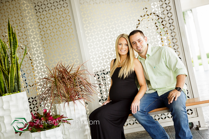 Orlando Maternity Session Photographers at Hyatt
