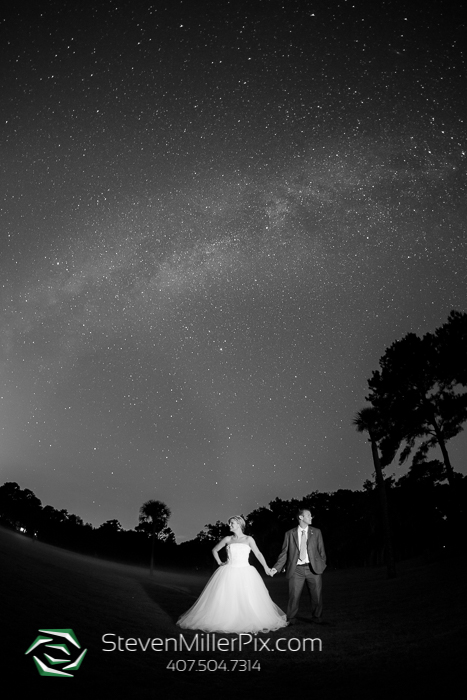 Milky Way Galaxy Wedding Photos