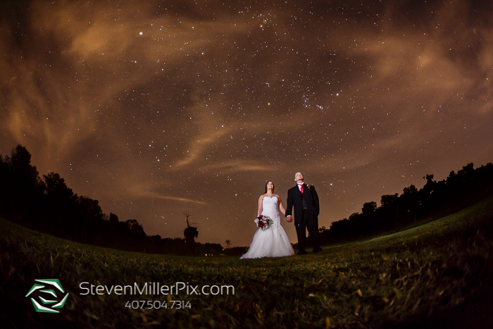 Florida Night Sky Wedding Photographers