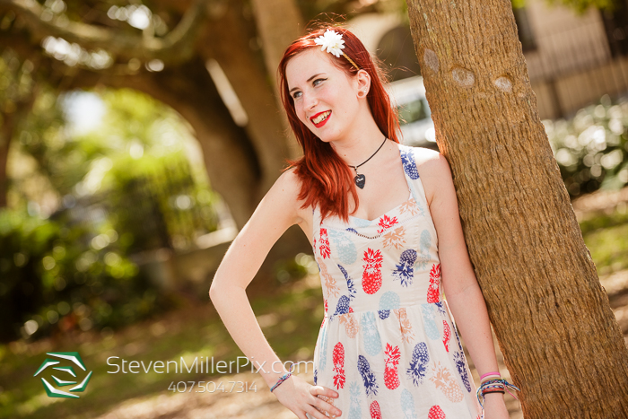 Downtown Orlando Senior Portraits Photos