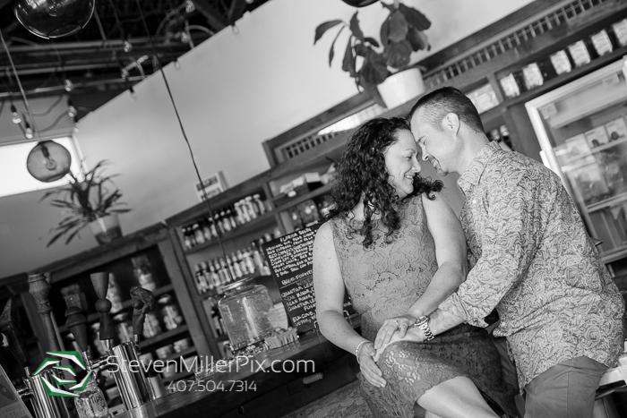 East End Market Engagement Photographer