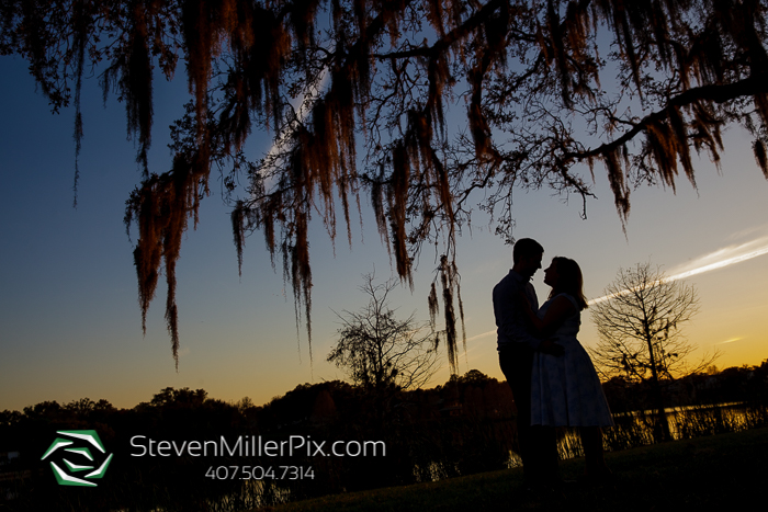 Loch Haven Park Engagement Session | The Acre Orlando Weddings