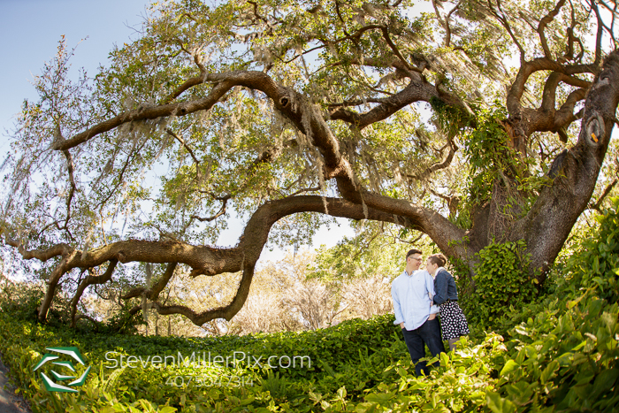 Orlando Loch Haven Engagement Photos