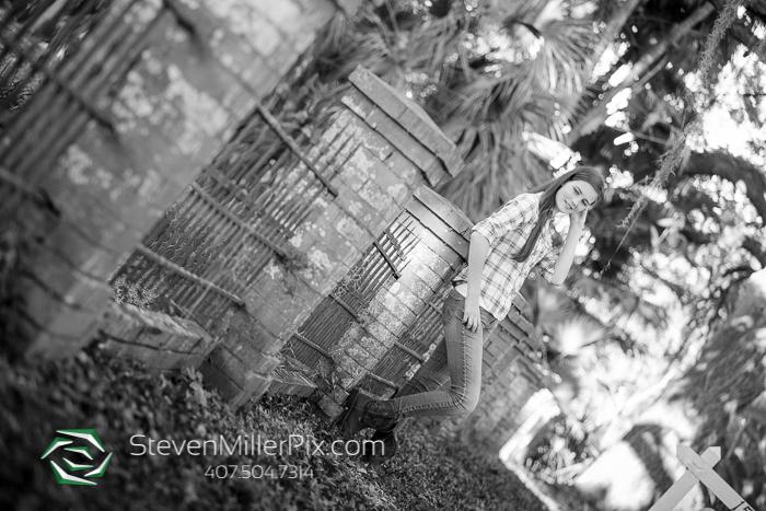 Winter Garden Senior Portraits Photographer