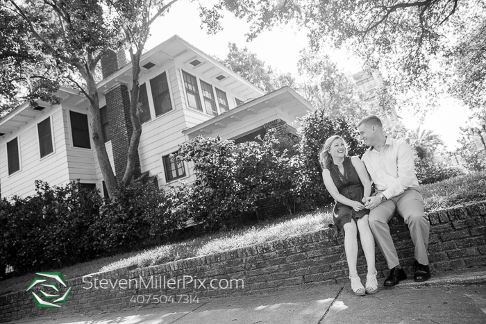 Thornton Park Orlando Engagement Sessions