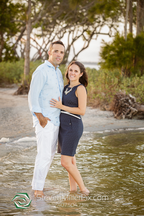 Private Island Cocoa Beach Engagement Photographer