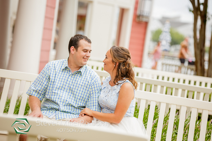 Disney Boardwalk Resort Engagement Photos