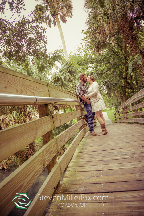 Engagement Photos Gemini Springs Park Florida