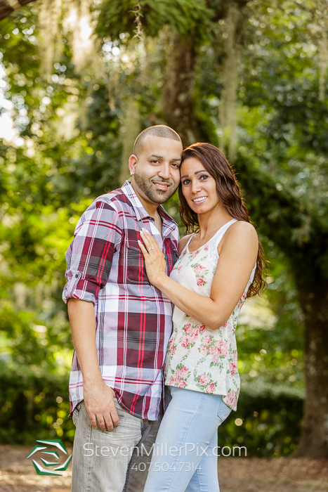 Downtown Orlando Dickson Azalea Engagement