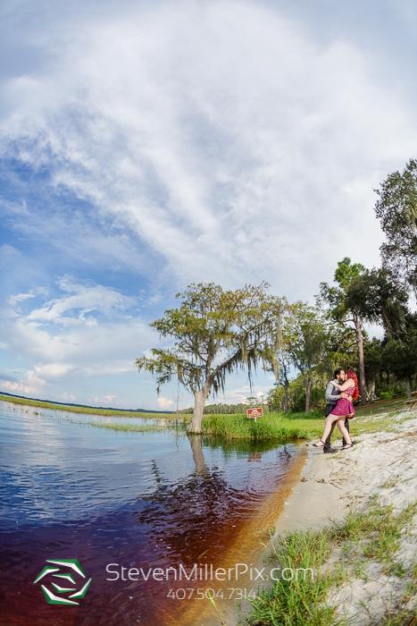 Engagement Photos At Lake Louisa State Park Florida