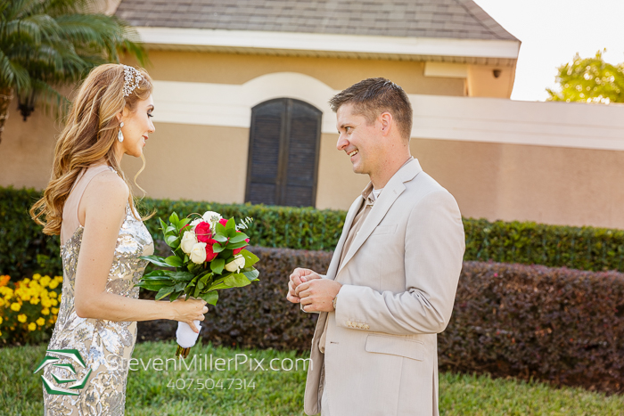 Orlando Intimate Backyard Wedding