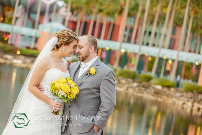 Disney Swan and Dolphin Wedding Photographer