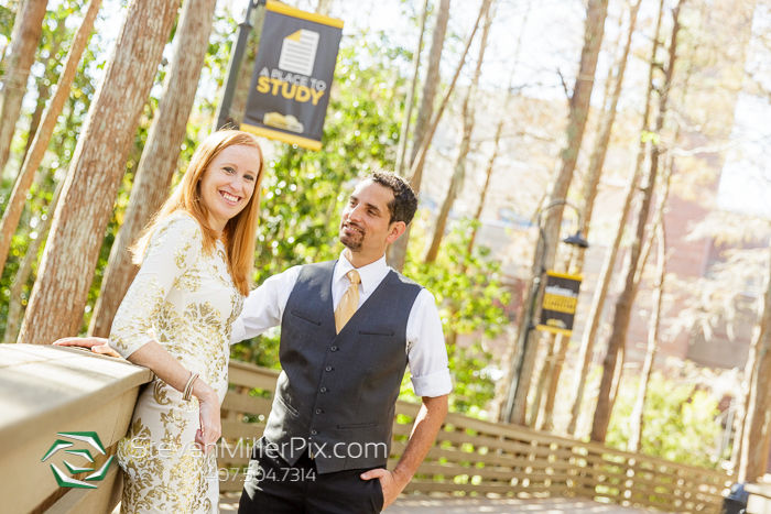 UCF Main Campus Orlando Engagement Photos