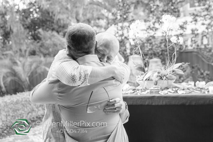 Backyard Lake Eola Same Sex Wedding Proposal