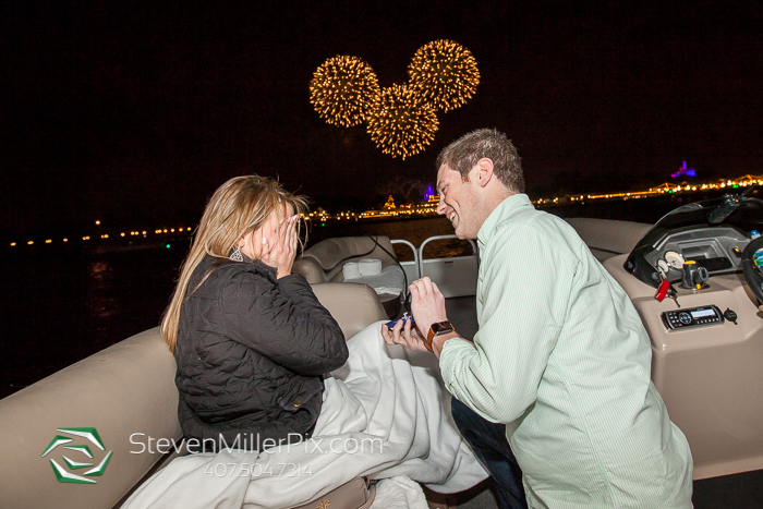 Surprise Proposal Photographers at Disney World
