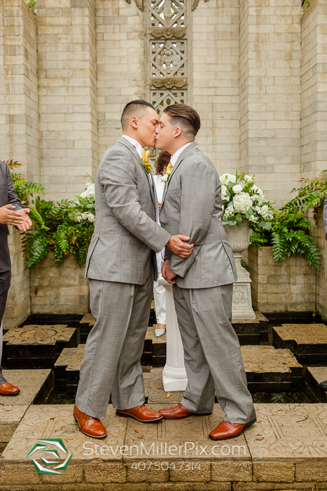 Intimate Same Sex Wedding at the Maitland Art Center