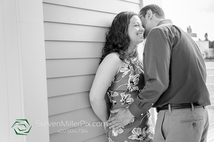 Disney's Boardwalk Engagement Photography