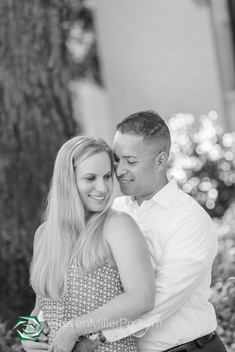 Engagement Photos at Rollins College
