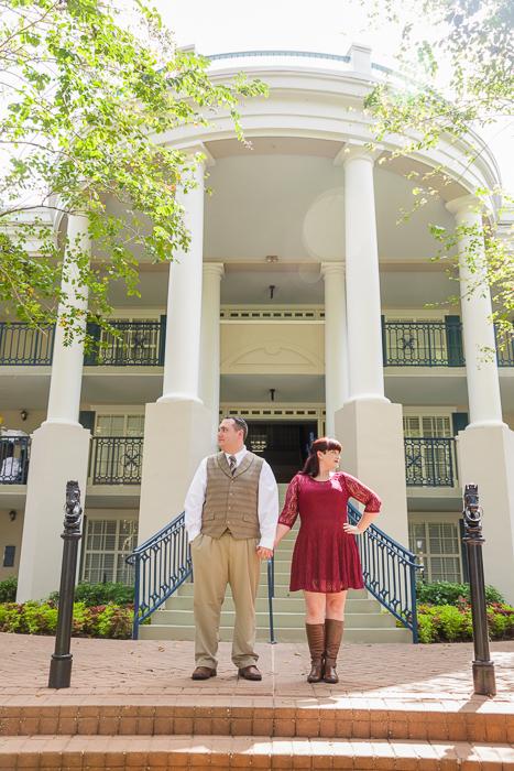 Port Orleans Disney Engagement Photos