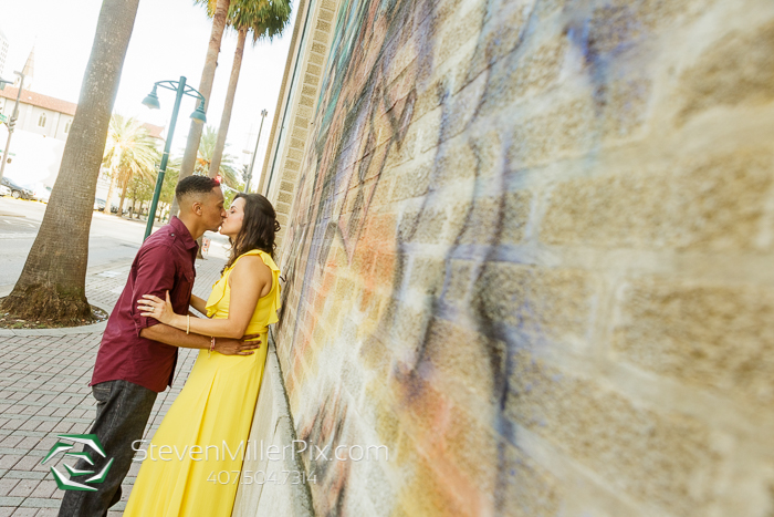 Downtown Orlando Engagement Photography