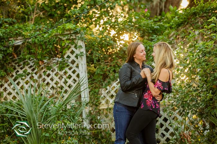 Ivanhoe Village Orlando Engagement Photos