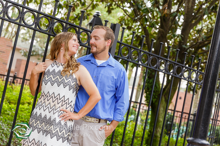 Engagement Photography at Disney's Port Orleans Resort