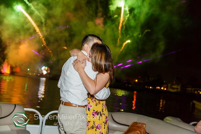 Disney Epcot Illuminations Surprise Proposal