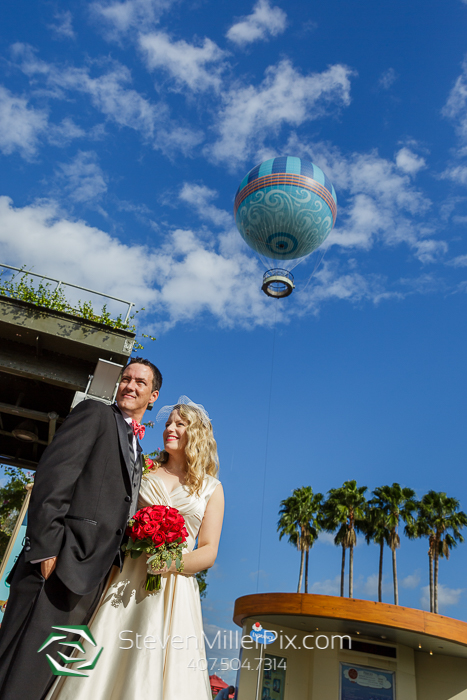 Disney Balloon Weddings Orlando Photographers