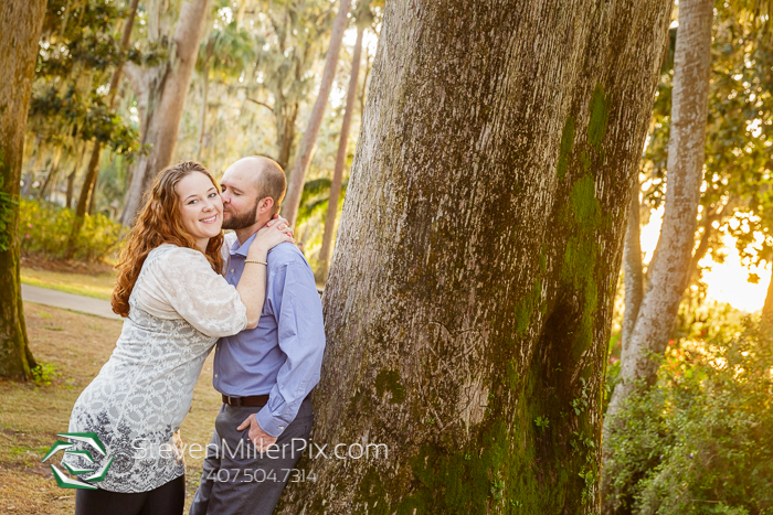 Engagement Kraft Azalea Gardens Photographers