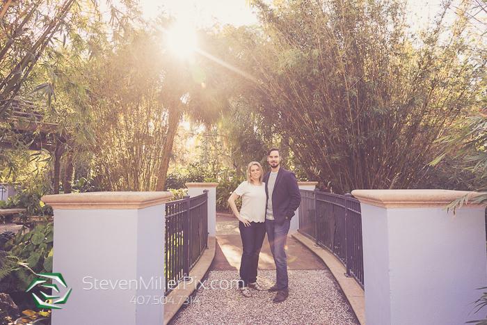 Florida Botanical Garden Engagement Photographers
