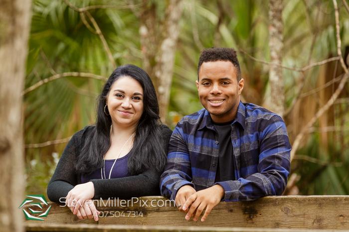 Orlando Florida Engagement Photography Wekiwa Springs