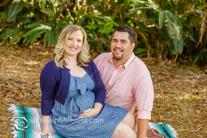 Maternity Portrait Photography at Alpine Groves Park